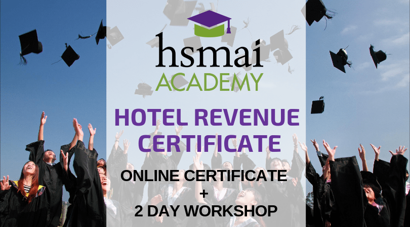 HSMAI 2 Day Hotel Revenue Certificate Course – Delhi